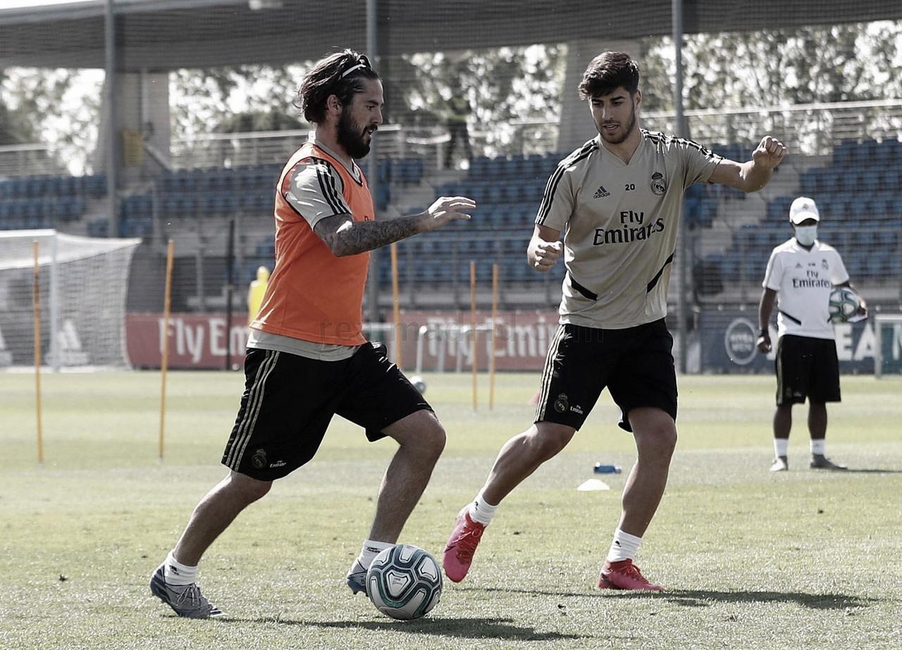 Entreno Real Madrid 2