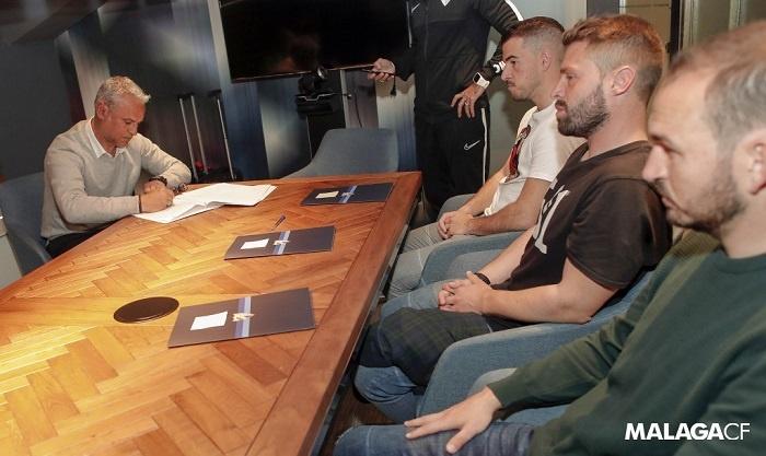 El Málaga CF anuncia la renovación de Pellicer