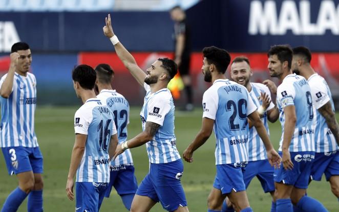 El Málaga CF se reencuentra a sí mismo