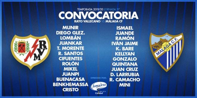 Convocatoria del Málaga CF