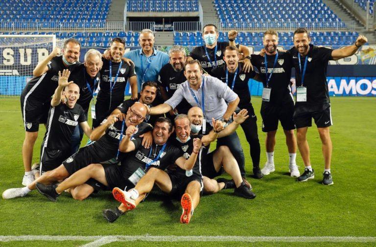 Torrontegui se despide del Málaga CF