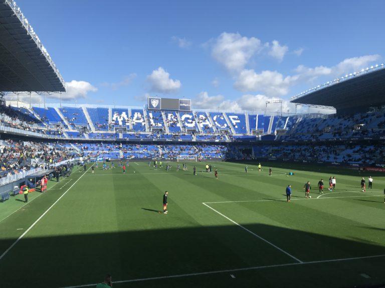 El Málaga CF duplica su puntuación en el INFUT
