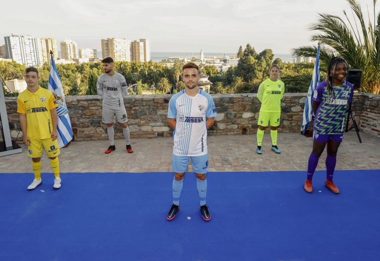 Málaga CF: Presentación camisetas temporada 2020/2021