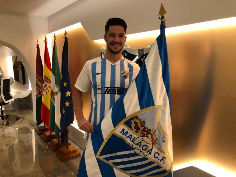Caye Quintana llega al Málaga CF