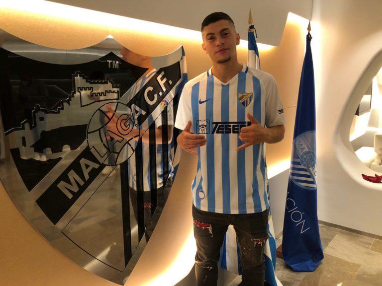Yanis Rahmani aterriza en el Málaga CF