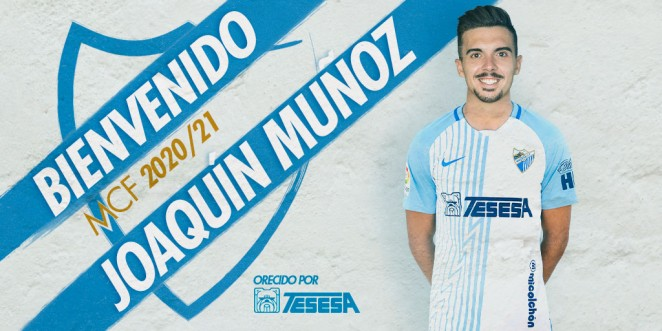 Joaquín Muñoz llega en el límite del mercado