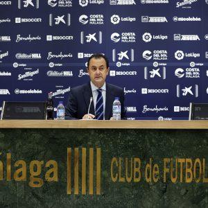 José María Muñoz: «A día de hoy, el Málaga CF no está en venta»