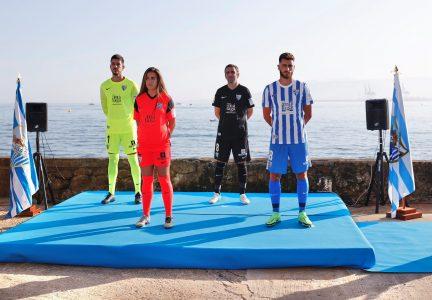 Málaga CF: Presentación nuevas camisetas Temporada 2021/2022