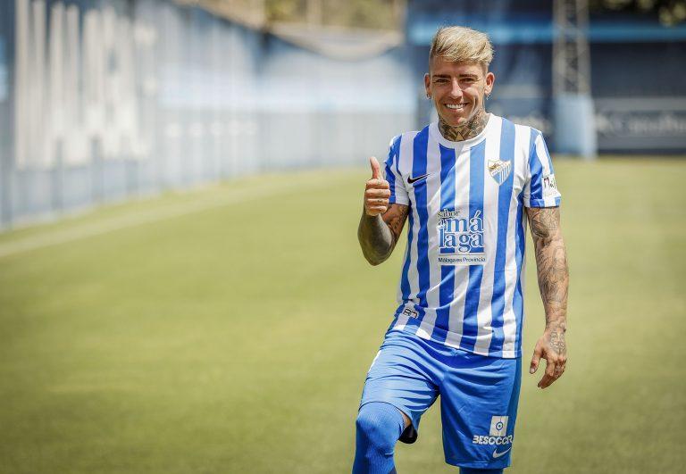 Lee más sobre el artículo Brandon presentado como jugador del Málaga CF