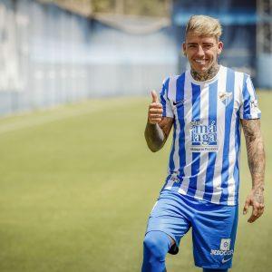 Brandon presentado como jugador del Málaga CF