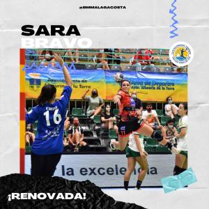 Sara Bravo renueva por una temporada más