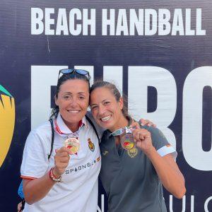 Virginia Fernández: Bronce en la EHF Beach Handball