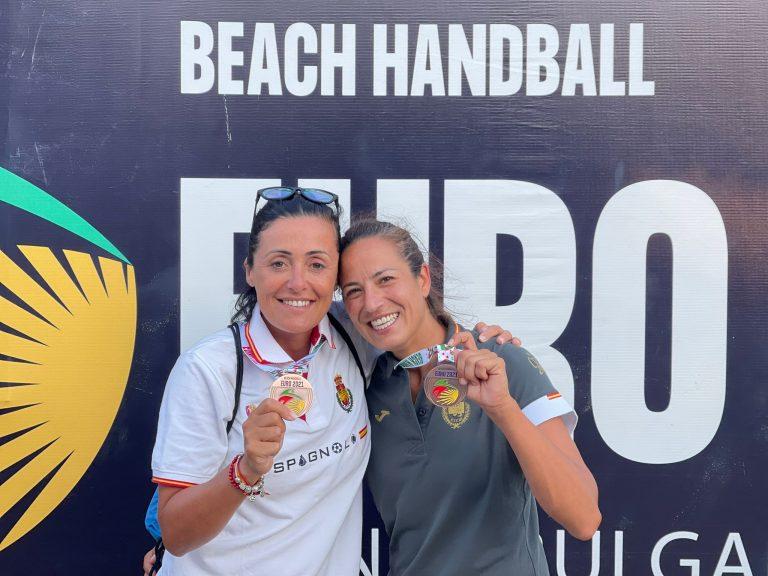Lee más sobre el artículo Virginia Fernández: Bronce en la EHF Beach Handball