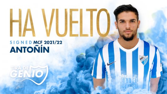 Málaga CF: «Vuelve Antoñín»