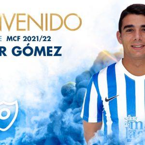 Víctor Gómez, nuevo jugador del Málaga CF
