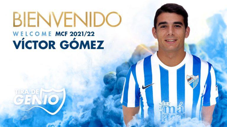 Lee más sobre el artículo Víctor Gómez, nuevo jugador del Málaga CF